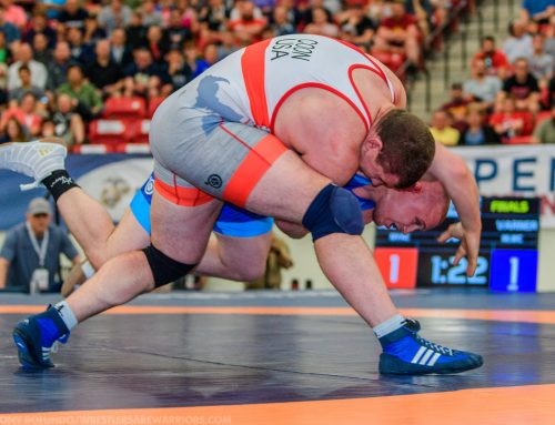 Coon Uses Late Pin to Qualify for U.S. Greco World Team
